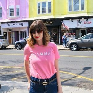 """Madewell """"Femme"""" Tee - Size Extra Small"""
